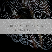 The trap of rehearsing